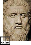 The Collected Dialogues of Plato, Greek and English Facing Pages. Electronic Edition. book cover